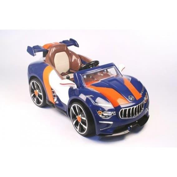 Электромобиль RiverToys Maserati A222AA с кожаным сидением