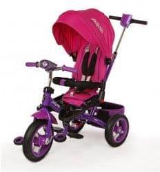 Трехколесный велосипед Moby Kids Leader-2 розовый
