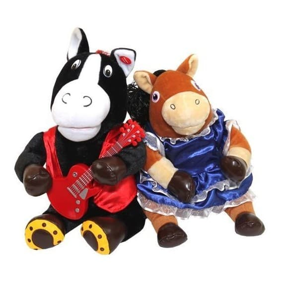 Поющие игрушки Вороной и Лошадка ЖуЖу