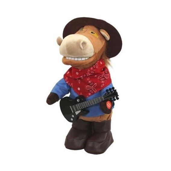 Поющая игрушка Конь Ковбой гитарист