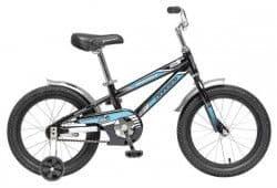 """Велосипед Novatrack 16"""" Dodger черный"""
