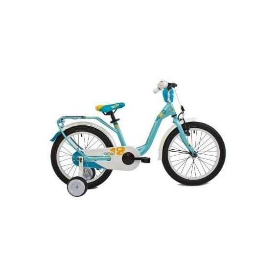 Детский велосипед Scool niXe 18 2016 мятный