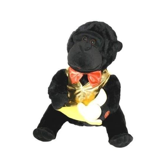 Поющая игрушка Горилла с бананом