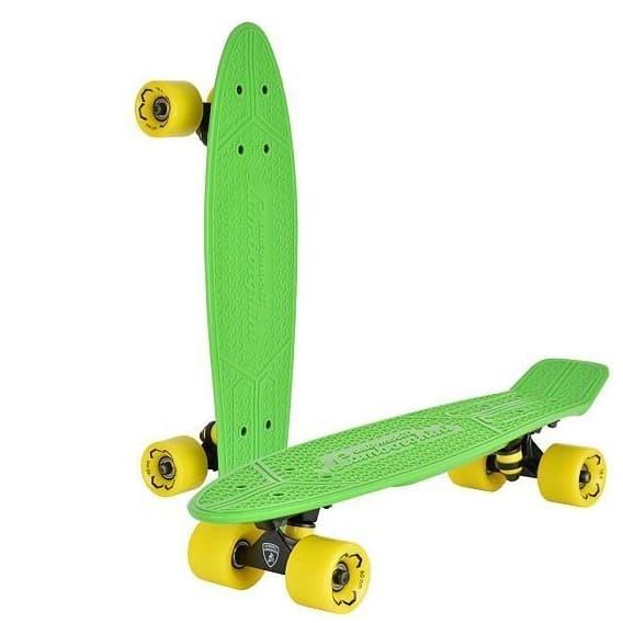 Скейтборд Lamborghini зеленый