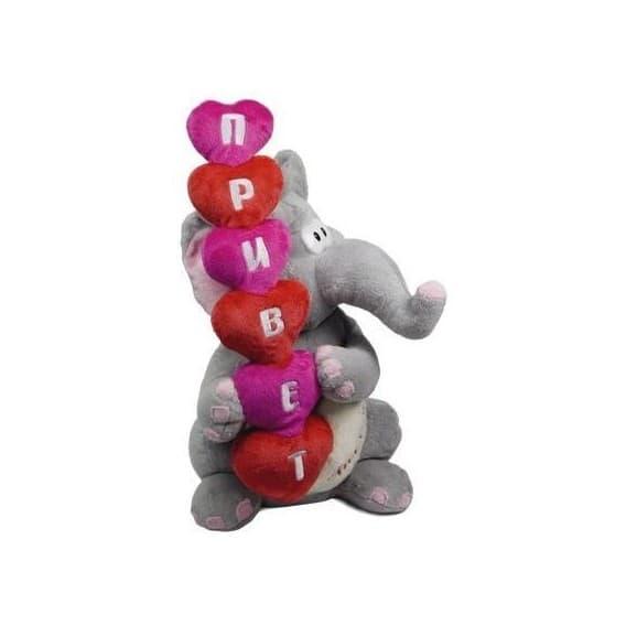 Поющая игрушка Приветливый слоник