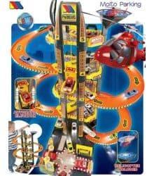 Игровой набор Molto Парковка с вертолетом 5 уровней