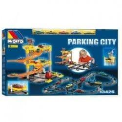 Игровой набор Molto Паркинг с треком и 5-ю машинками