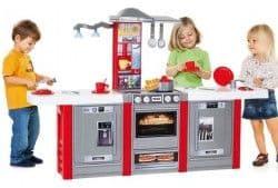 Детская игровая кухня Molto со звуковыми эффектами и светом 3 модуля