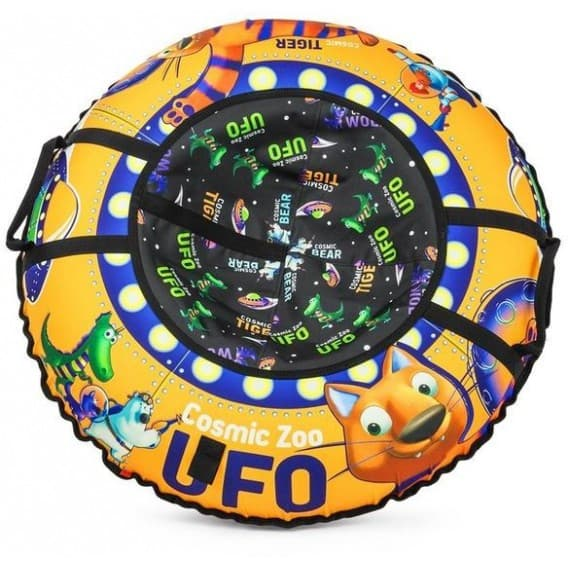 Тюбинг Cosmic Zoo UFO + камера 95 см