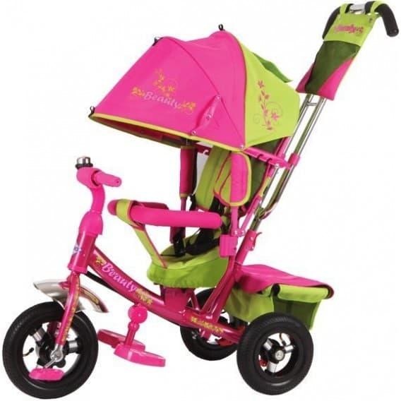 Трехколесный велосипед Trike Beauty с мягким чехлом