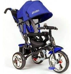 велосипед трехколесный с мягкой спинкой