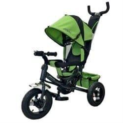 Трехколесный велосипед Moby Kids Comfort-2 зеленый