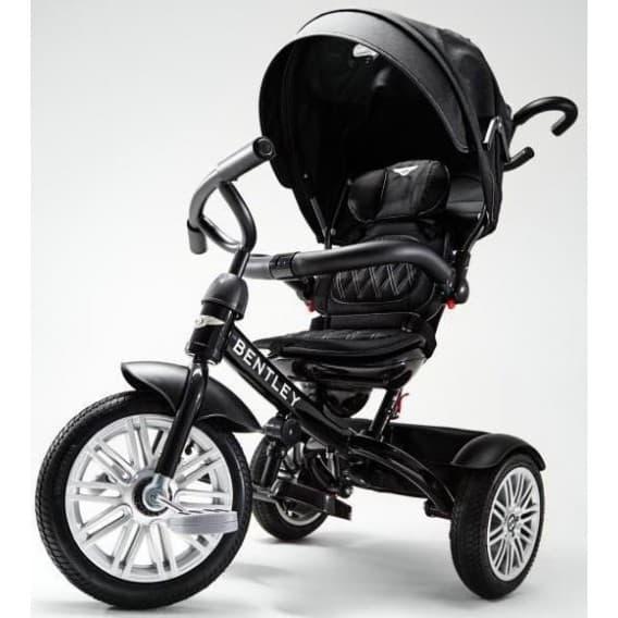 Трехколесный велосипед Bentley черный