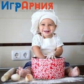 Дети учатся самостоятельности с детскими кухнями