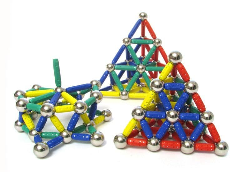Магнитные конструкторы для детей, фигуры