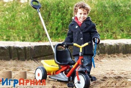 Детский 3 х колесный велосипед