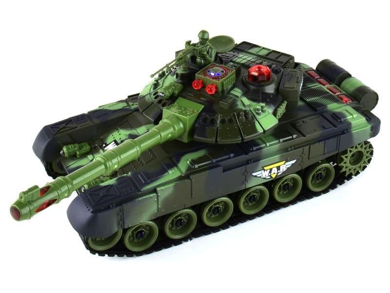 Радиоуправляемые танки стрельба ИК-пушкой купить
