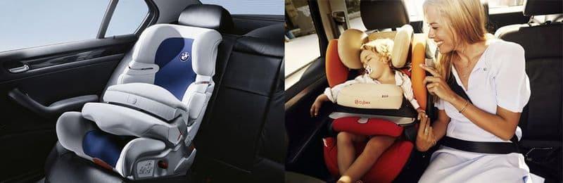 Автокресло со столиками безопасности и положением для сна купить