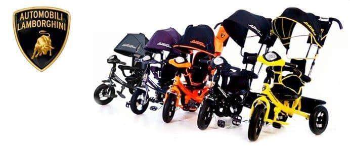 детский велосипед ламборджини л2