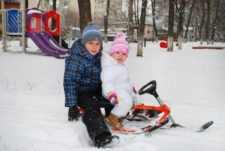 купить снегокат