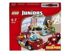 Конструктор Lego Джуниорс Железный человек против Локи