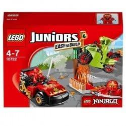 Конструктор Lego Джуниорс Схватка со змеями