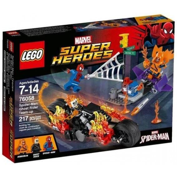 Конструктор Lego Супер Герои Человек-паук Союз с Призрачным гонщиком