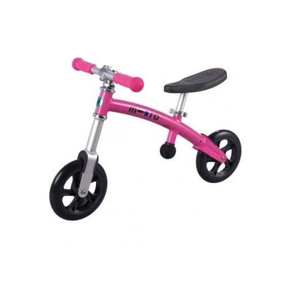 Беговел Micro G-Bike+Light (GB0011) розовый