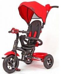 Трехколесный велосипед Moby Kids Junior-2 складной красный