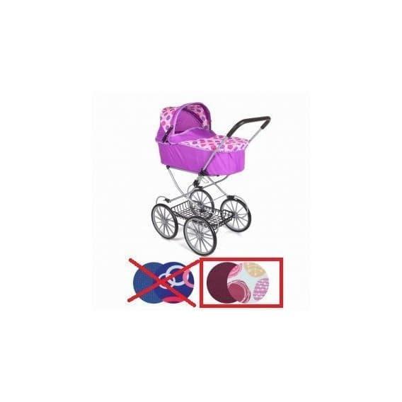 Высокая коляска - люлька для кукол Melobo 9673 - 89 см