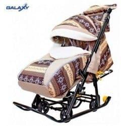 Санки-коляска Snow Galaxy Luxe Скандинавия