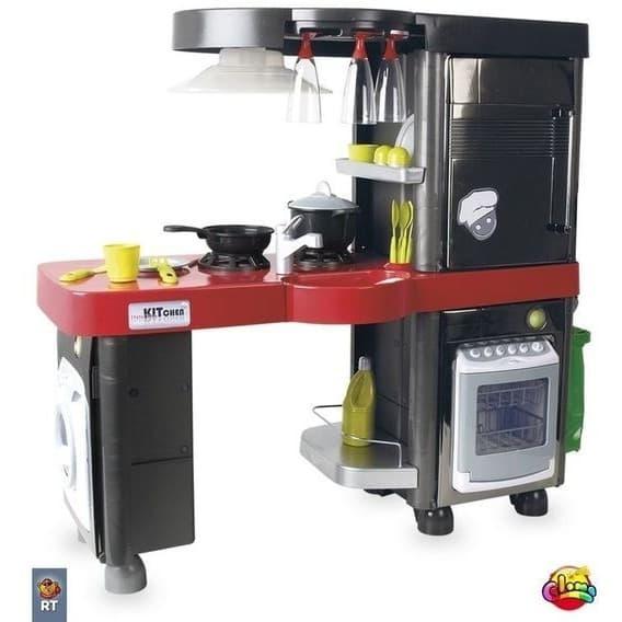 Кухонный модуль Coloma с хромированными дверцами