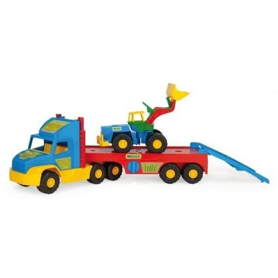 Машина с трактором Super Truck от Wader