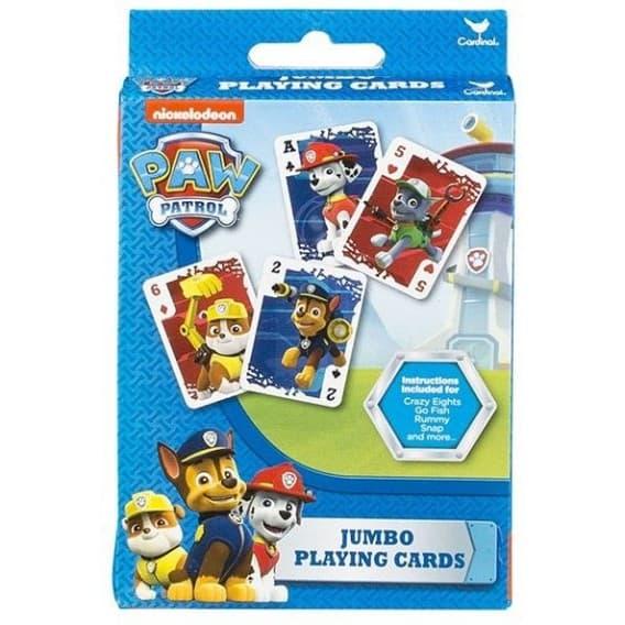 Игровые карты для детей Щенячий патруль, 54 шт.