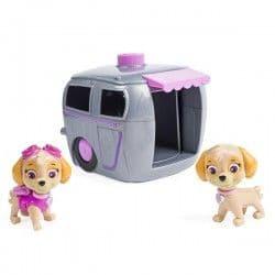 Два щенка в домике Щенячий патруль - Скай