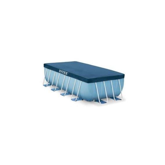 Тент для каркасного бассейна прямоугольный Intex 388х184 см
