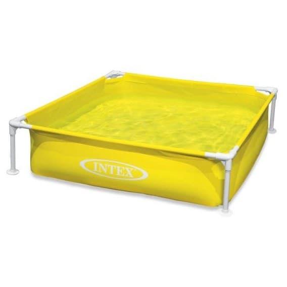 Каркасный бассейн Mini Frame Pool Intex 122х122х30 см