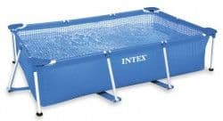 Каркасный бассейн Rectangular Frame Pool Intex 220х150х60 см
