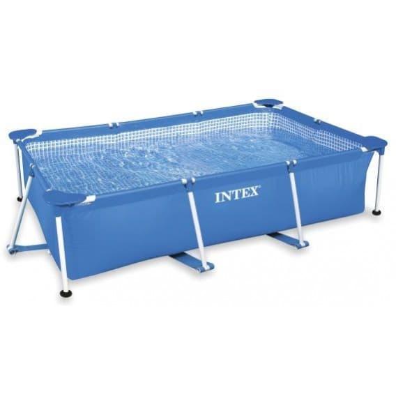Каркасный бассейн Rectangular Frame Pool Intex 220х150х60 см