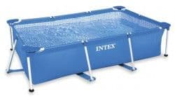 Каркасный бассейн Rectangular Frame Pool Intex 260х160х65 см