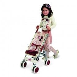 Коляска-трость для кукол Мартина с чехлом 68 см