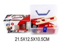Набор инструментов, 12 предметов, дрель с мех.запуском, чемоданчик
