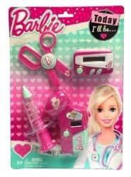 Игровой набор юного доктора Barbie на блистере D121A