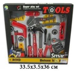Игровой набор инструментов, 12 предметов