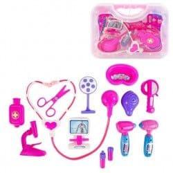 Набор Доктор розовый в чемоданчике