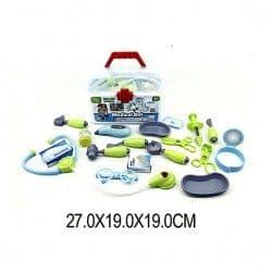Медицинский комплект в чемоданчике, 18 предметов