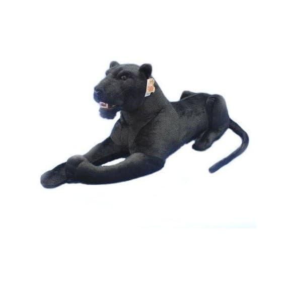 Пантера с открытой пастью