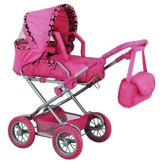 Большая коляска для кукол Buggy Boom Infinia 8459