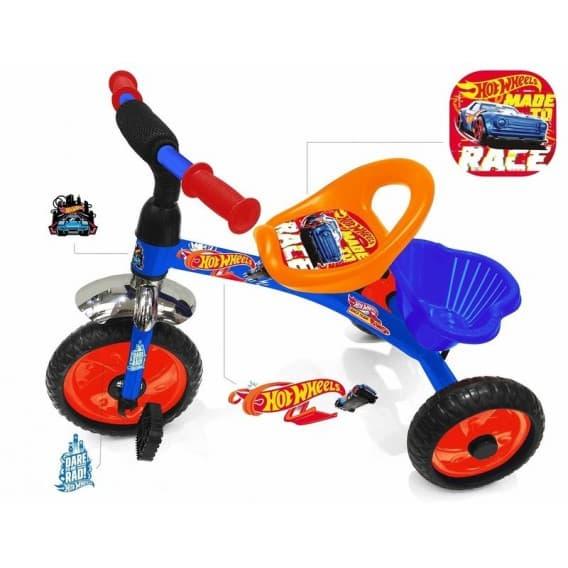 Детский трехколесный велосипед Hotwheels HH1М 2018