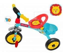 Детский трехколесный велосипед Fisher price HF1 новинка 2018